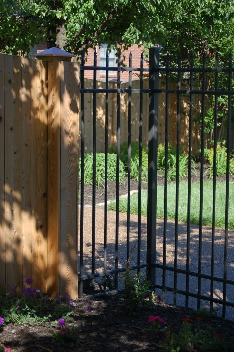Ultra aluminum fencing the look of traditional wrought